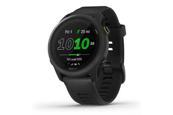 Large image of Garmin Forerunner 745 Black Smartwatch - 010-02445-00