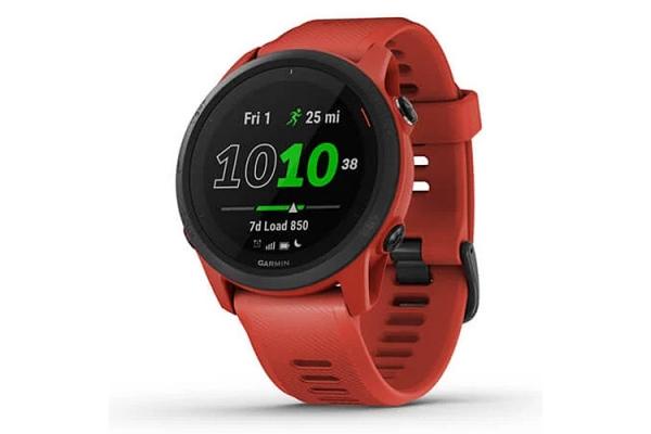 Large image of Garmin Forerunner 745 Magma Red Smartwatch - 010-02445-02