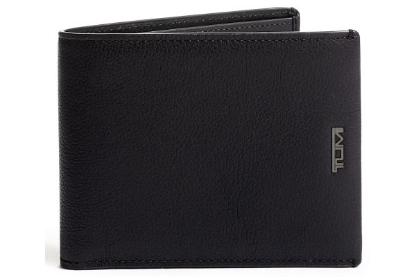 Large image of TUMI Nassau Black Textured Global Removable Passcase - 01262135DT
