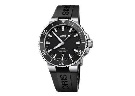 Oris Aquis Date Automatic Black Dial Mens Watch - 01733773041540742464EB