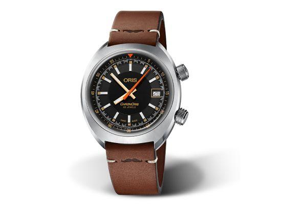 Large image of Oris Chronoris Date 39mm Stainless Steel Mens Watch - 0173377374034SETLS