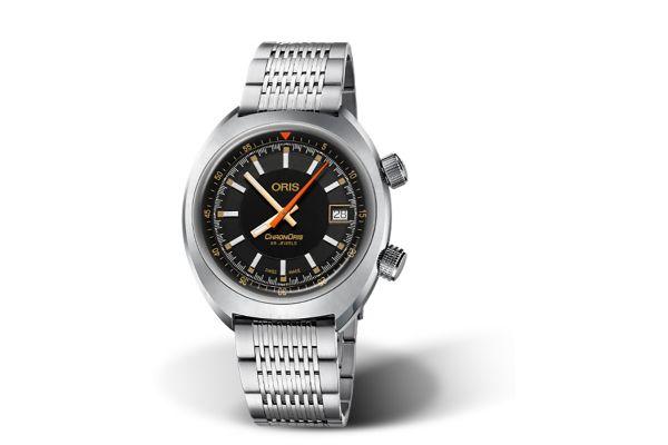 Large image of Oris Chronoris Date 39mm Stainless Steel Mens Watch - 0173377374034SETMB
