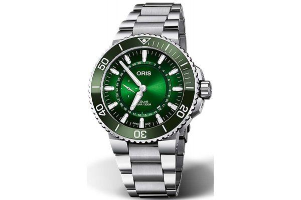 Large image of Oris Aquis Hangang Limited Edition Mens Watch - 0174377344187SET