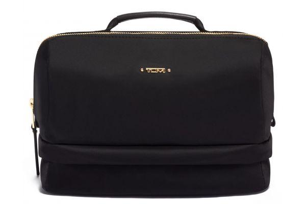 Large image of TUMI Voyageur Black Selma Cosmetic Case - 0196303D