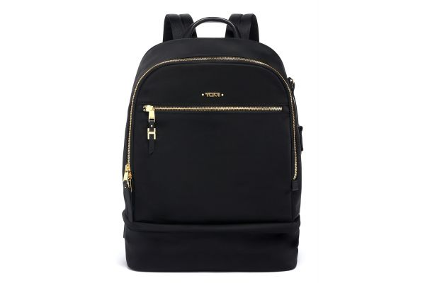 Large image of TUMI Voyageur Black Brooklyn Double Compartment Backpack - 0196307D