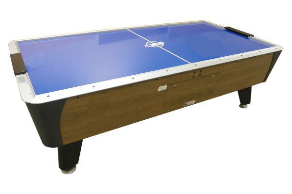 Large image of Dynamo Prostyle Branded 7 Ft. Oak Air Hockey Table - 020400887OAK