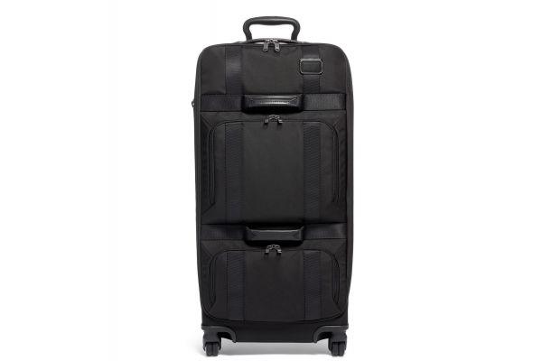Large image of TUMI Merge Black Tall 4 Wheeled Duffel Packing Case - 022028649D2