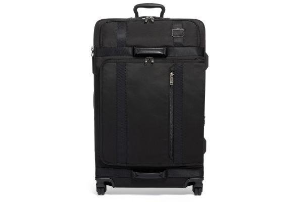 Large image of TUMI Merge Black Extended Trip Expandable 4 Wheeled Packing Case - 022028669D2