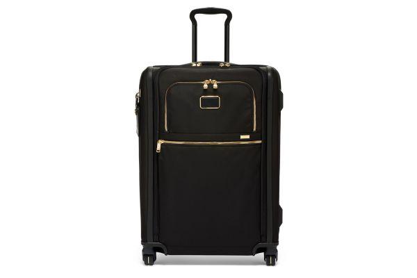 Tumi Alpha 3 Black/Gold Short Trip Expandable 4 Wheeled Packing Case - 02203064DG3