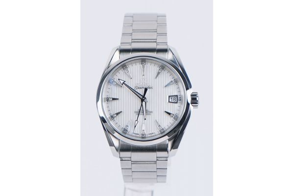 Omega Seamaster Aqua Terra 38.5mm Mother-of-Pearl Dial With Diamond Pre-Owned Mens Watch - 023110392155001