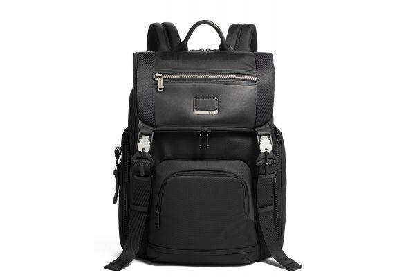 Large image of TUMI Alpha Bravo Black Lark Backpack - 0232651D