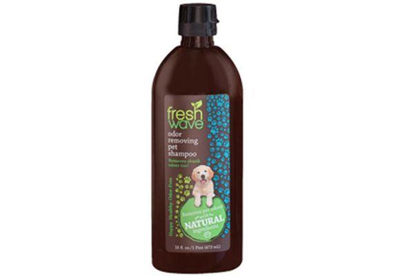 Large image of Fresh Wave 16 Fl. Oz. Odor Removing Dog Shampoo - 027