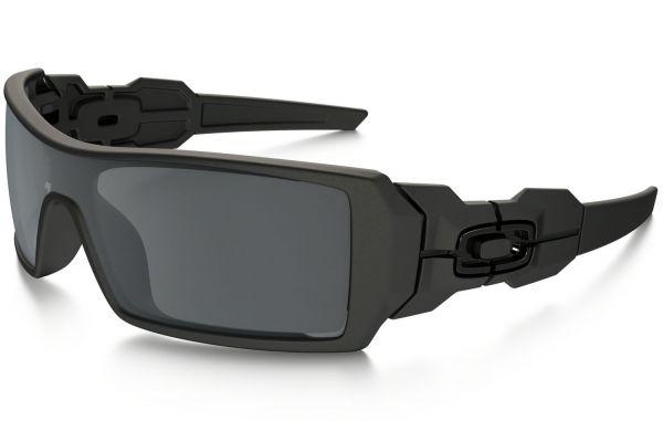 Oakley Shield Black Iridium Lens Mens Sunglasses - OO9081 03-464 28