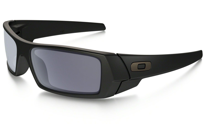 36a0eef96f6 Oakley Gascan Sunglasses Matte Black Grey - 03-473 - Abt
