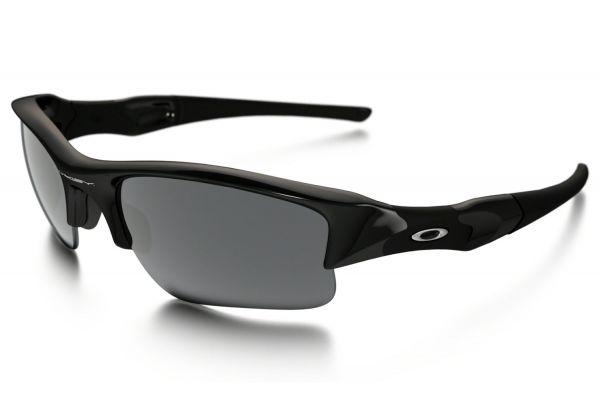 Oakley Jet Black Flak Jacket Semi-Rimless Mens Sunglasses - OO9009 03-915 63