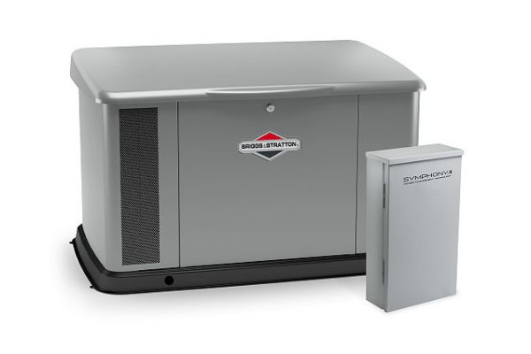 Large image of Briggs & Stratton 20kW Aluminum Standby Generator With 100 Amp Symphony II Switch - 040645