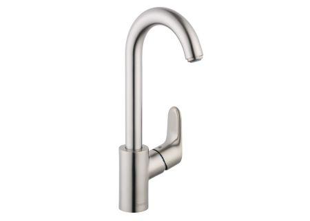 Hansgrohe Steel Optic Focus Kitchen Faucet - 04507801