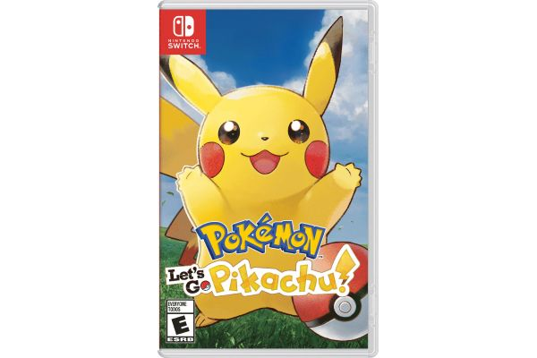 Large image of Nintendo Switch Pokemon: Lets Go, Pikachu! Video Game - HACPADW2A