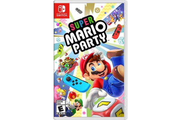 Nintendo Switch Super Mario Party Video Game - HACPADFJA