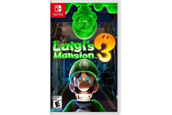 Large image of Nintendo Switch Luigi's Mansion 3 - 045496596408