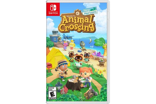 Large image of Nintendo Switch Animal Crossing: New Horizons Video Game - 045496596439