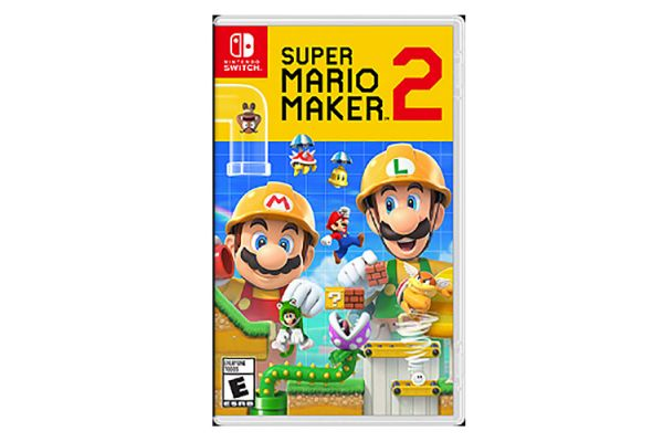 Large image of Nintendo Switch Super Mario Maker 2 Video Game - 045496596484