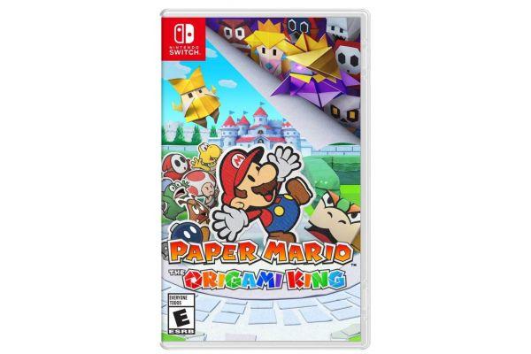 Large image of Nintendo Switch Paper Mario: Origami KingVideo Game - 045496596767