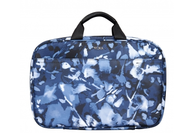 Tumi - 481848- INDIGO FLORAL - Toiletry & Makeup Bags