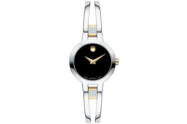 Movado Amorosa Stainless Steel Womens Watch - 0607185