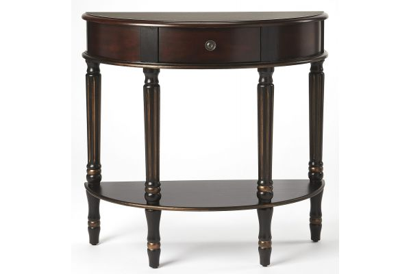 Large image of Butler Specialty Company Mozart Cafe Noir Console Table - 0667104