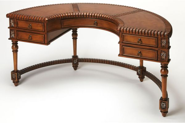 Large image of Butler Specialty Company Geneva Demilune Desk - 0714090