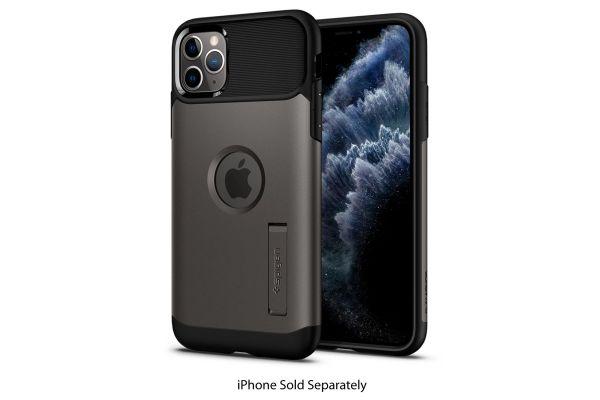 Spigen Slim Armor Gunmetal iPhone 11 Pro Max Case - 075CS27056