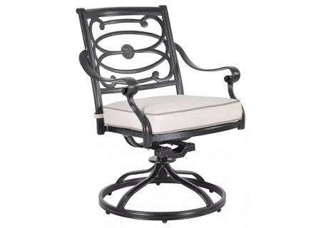 Veranda Classics Carmen Collection Cast Aluminum Swivel Rocker Dining Chairs - 09800222S010-2PK