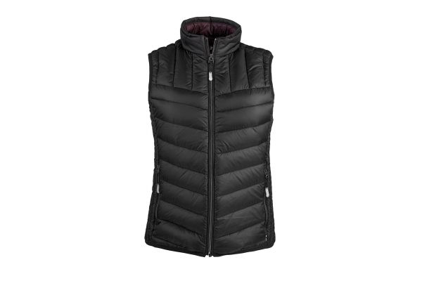 Tumi Black Large PAX Outerwear Womens Vest - F68121-BLACK L