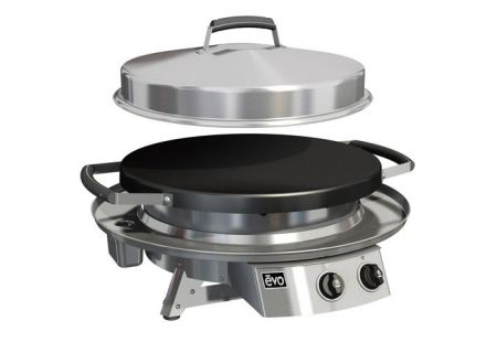 Evo Professional Tabletop Stainless Steel Liquid Propane Gas Grill - 10-0021-LP