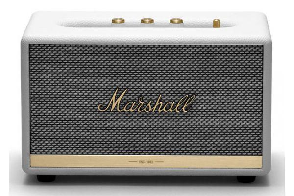 Large image of Marshall Acton II White Bluetooth Speaker - 1002483