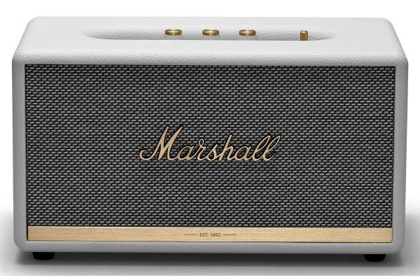 Large image of Marshall Stanmore II White Bluetooth Speaker - 1002487