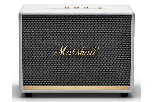 Large image of Marshall Woburn II White Bluetooth Speaker - 1002491