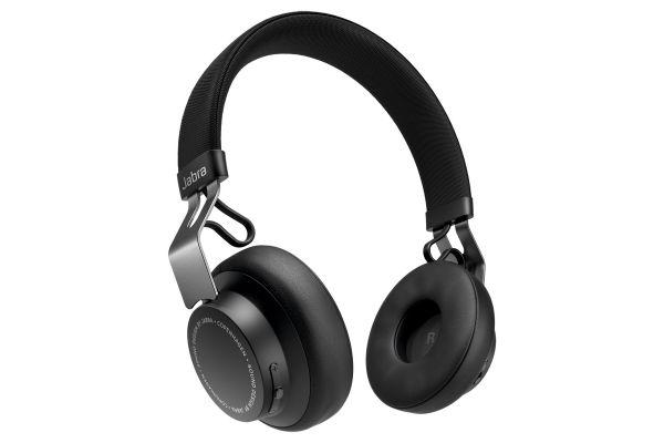 Large image of Jabra Black Move Style Edition Wireless Headphones - 100-96300000-02