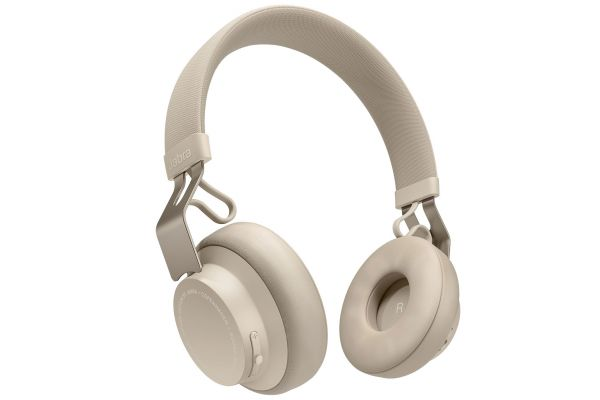 Jabra Move Style Edition Gold Beige On-Ear Wireless Headphones - 100-96300006-02