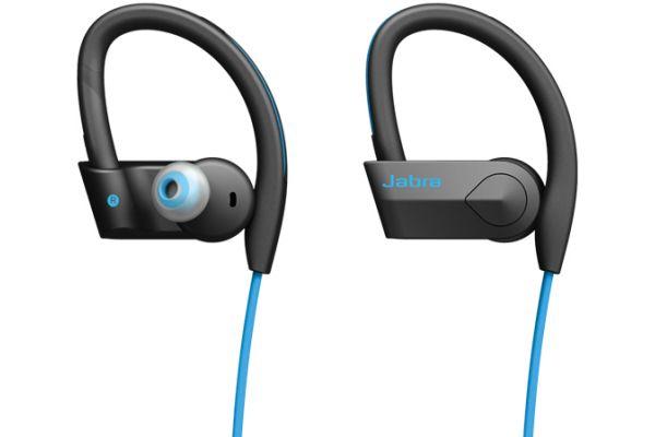 Jabra Sport Pace Blue Wireless Headphones - 100-97700002-02