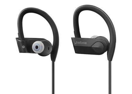 Jabra Sport Pace Black Wireless Headphones - 100-97700003-02