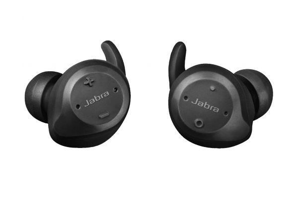 Large image of Jabra Elite Sport Black True Wireless In-Ear Headphones - 100-98600001-02