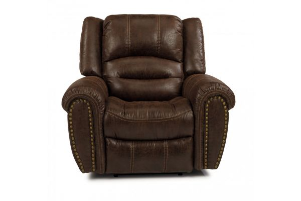 Large image of Flexsteel Town Silt Fabric Recliner - 1010-50-349-72