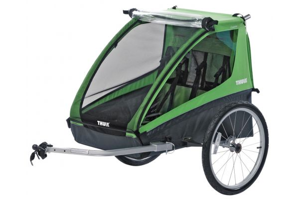 Large image of Thule Green Cadence Bike Trailer - 10101802