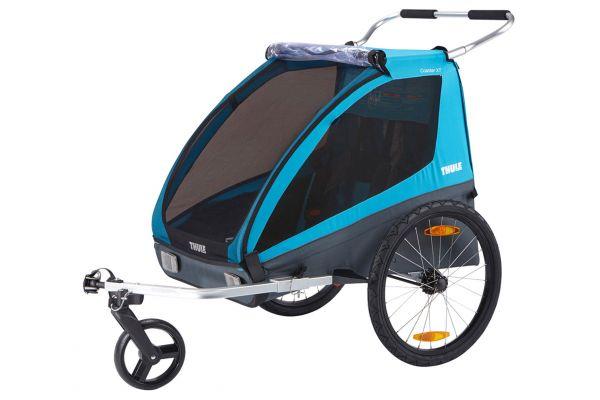 Large image of Thule Blue Coaster XT Bike Trailer - 10101803