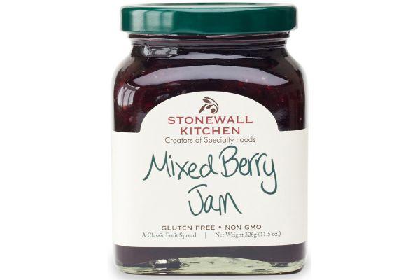Large image of Stonewall Kitchen Mixed Berry Jam - 101348