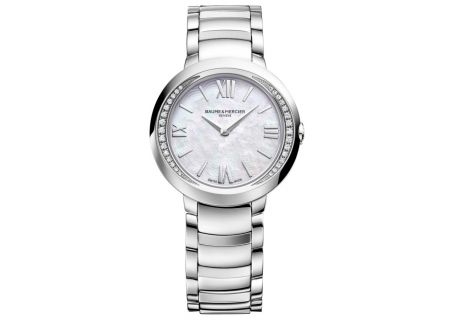 Baume & Mercier Promesse 30mm Stainless Steel Womens Watch - 10160