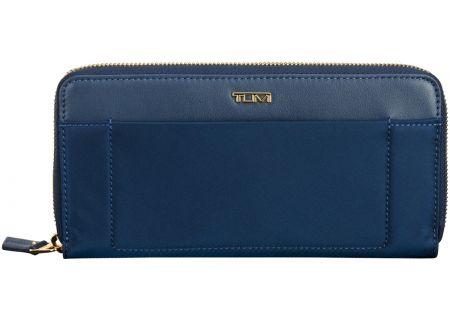 Tumi Voyageur Ocean Blue Zip-Around Continental Wallet  - 1022531621