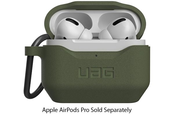 Large image of Urban Armor Gear Olive Silicone Case V2 For AirPods Pro - 10245K117272